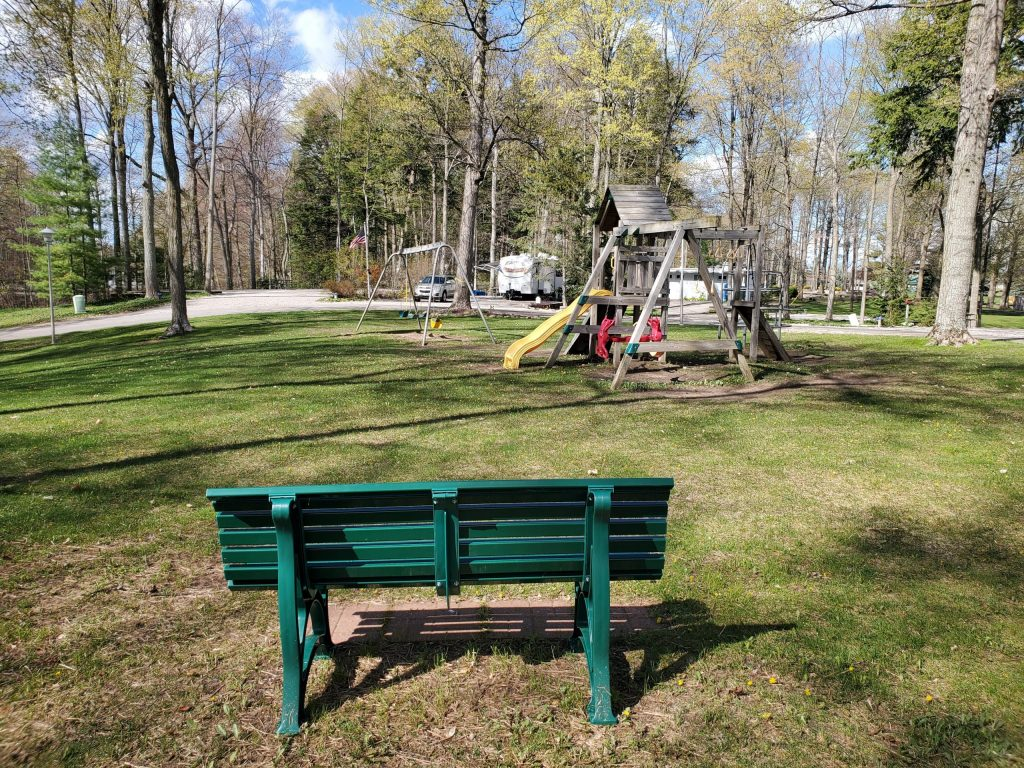 Playgrounds at Holiday Park Campground