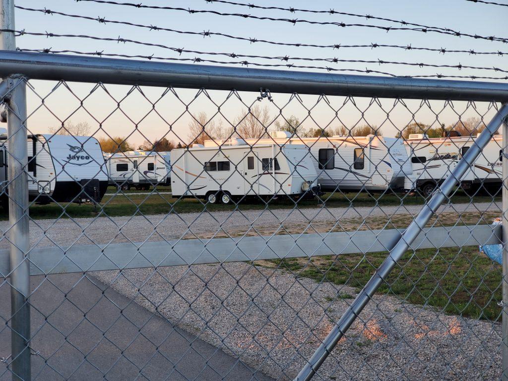 Holiday Park Campground storage facilities