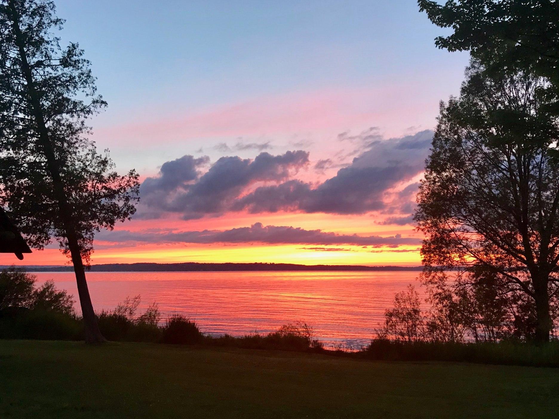 Beautiful views at Holiday Park Campground